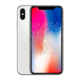 iPhone X screen crack replacement Singapore