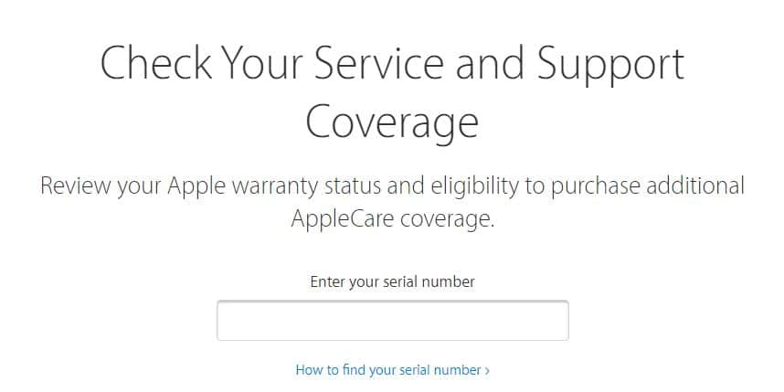 warranty-check-apple