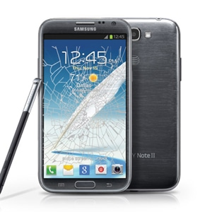Samsung Note 2 crack screen replacement Singapore