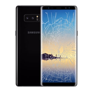 Samsung Note 8 crack screen replacement Singapore