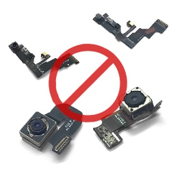 Sony camera removal, epoxy cover-up and lens cover-up service singapore