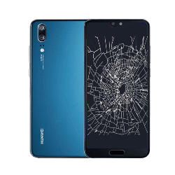 Huawei P20 crack screen replacement Singapore