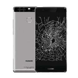 Huawei P9 crack screen replacement Singapore