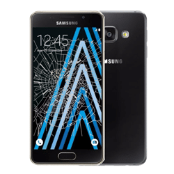 Samsung A3 2016 crack screen replacement Singapore