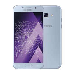 Samsung A5 2017 crack screen replacement Singapore