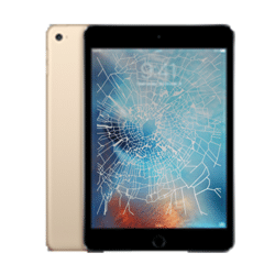 iPad Mini 4 crack screen replacement Singapore