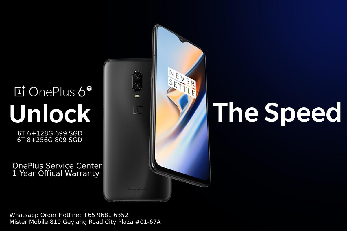 OnePlus 6T Mister Mobile