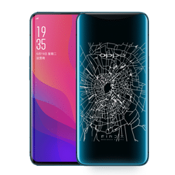 Oppo Find X Back Glass replacement Singapore