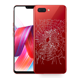 Oppo R15 Back Glass replacement Singapore