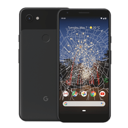 Google Pixel 3a crack screen replacement Singapore