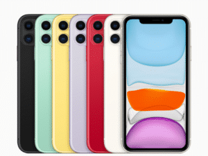 iPhone 11 Color Selection