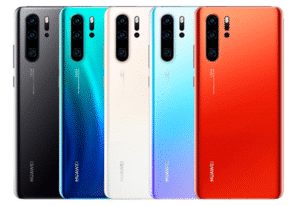 Huawei P30 Pro Color Selections