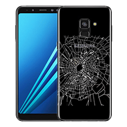 Samsung A8 2018 Back Glass replacement Singapore